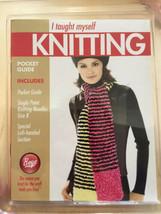 Boye Knit I Taught Myself Knitting With 2 Needles New Kit Sealed - $15.20