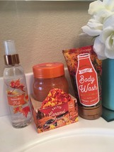 New Bath ans Body Works Discontinued Salted Caramel Apricot set of 4 items  - $28.91