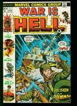 WAR IS HELL #1 1973- AL WILLIAMSON- DICK AYERS- BOB POWELL- MARVEL -VF - $37.83