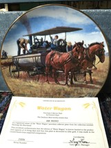 Water Wagon The Danbury Mint Collector Plate By Emmett Kaye - $29.69