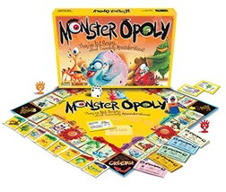 Monster-opoly by Late for the Sky Board Game Monopoly Family Fun - $26.88