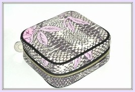 Bobbi Brown Peony & Python Beauty Case cosmetic bag new in box - $39.55