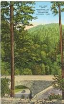 200-Loop near Newfound Gap, Great Smoky Mountains National Park 1930s Postcard - $4.99