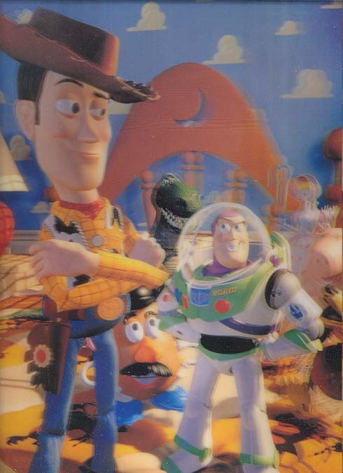 Toy Story 1 3d Collector Book by John Lasseter