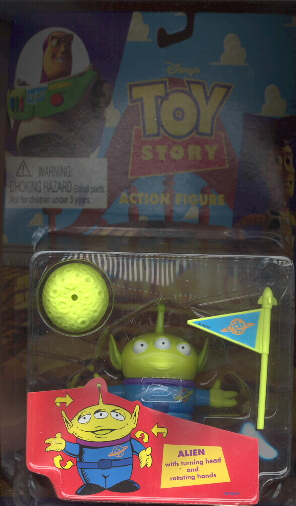Toy Story 1 Alien with rotating parts MOC