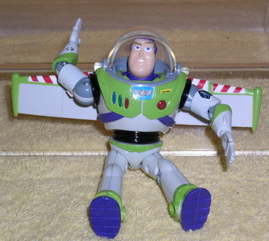 Toy Story 1 Buzz Action Figurine 6 inches World Wide Ship