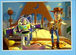 Toy Story 1 Disney Buzz & Woody Lithograph - $35.69