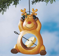 Reindeer Holiday Fruit Bird Feeders  - $14.50