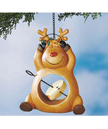 Reindeer Holiday Fruit Bird Feeders  - $14.50