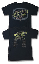 JAMES TAYLOR & HIS ALL-STAR BAND - 2014  CONCERT TOUR T-SHIRT / SZ. M - $15.20
