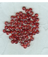 Bargain Of  the Year 362 Faceted Glass Beads 8 mm Rich Red Craft Jewelry - $7.99