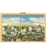 A View of the Main Business District, Seattle, Washington, 1954 used Pos... - $5.99