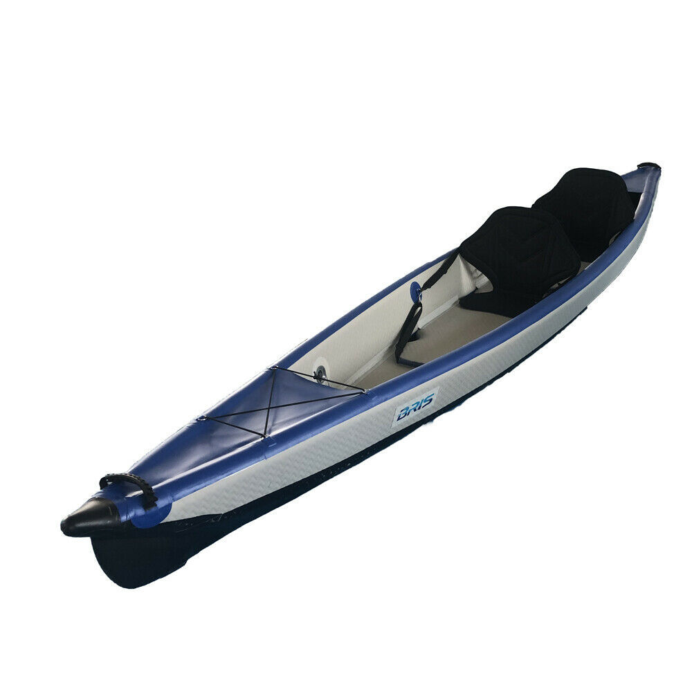 """BRIS 15'5"""" Drop Stitch Inflatable Kayak Canoe Boat Two Person"""