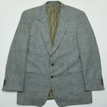 "Ermenegildo Zegna ""Soft"" Sport Coat - Windowpane - 50R - Made in Switzer... - $79.20"