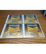 Maxell CD-R Disc Recordable 623310 Lot of 4, 74 Min 650 MB New Sealed - $9.85