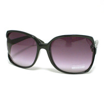 Large SQUARED Women's Designer Sunglasses Retro BLACK - $7.87