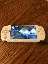 Sony PSP 2001 Video Game Console White W/ 37 Games Tested w/Charger, 32G... - $148.49