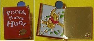 Winnie The Pooh Tokyo Disneyland Pooh's Hunny Hunt Book Japan pin/pins