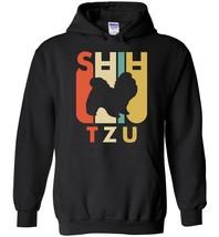 Vintage Style Shih Tzu Blend Hoodie - $43.82 CAD+