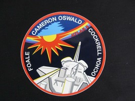 NASA Space Shuttle Crew Member Patch Decal STS 56 - $9.86