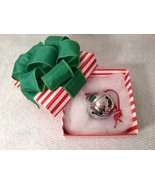 Polar Sleigh Bell w Hand Folded Constructed Box Express made by Elf Work... - $74.24