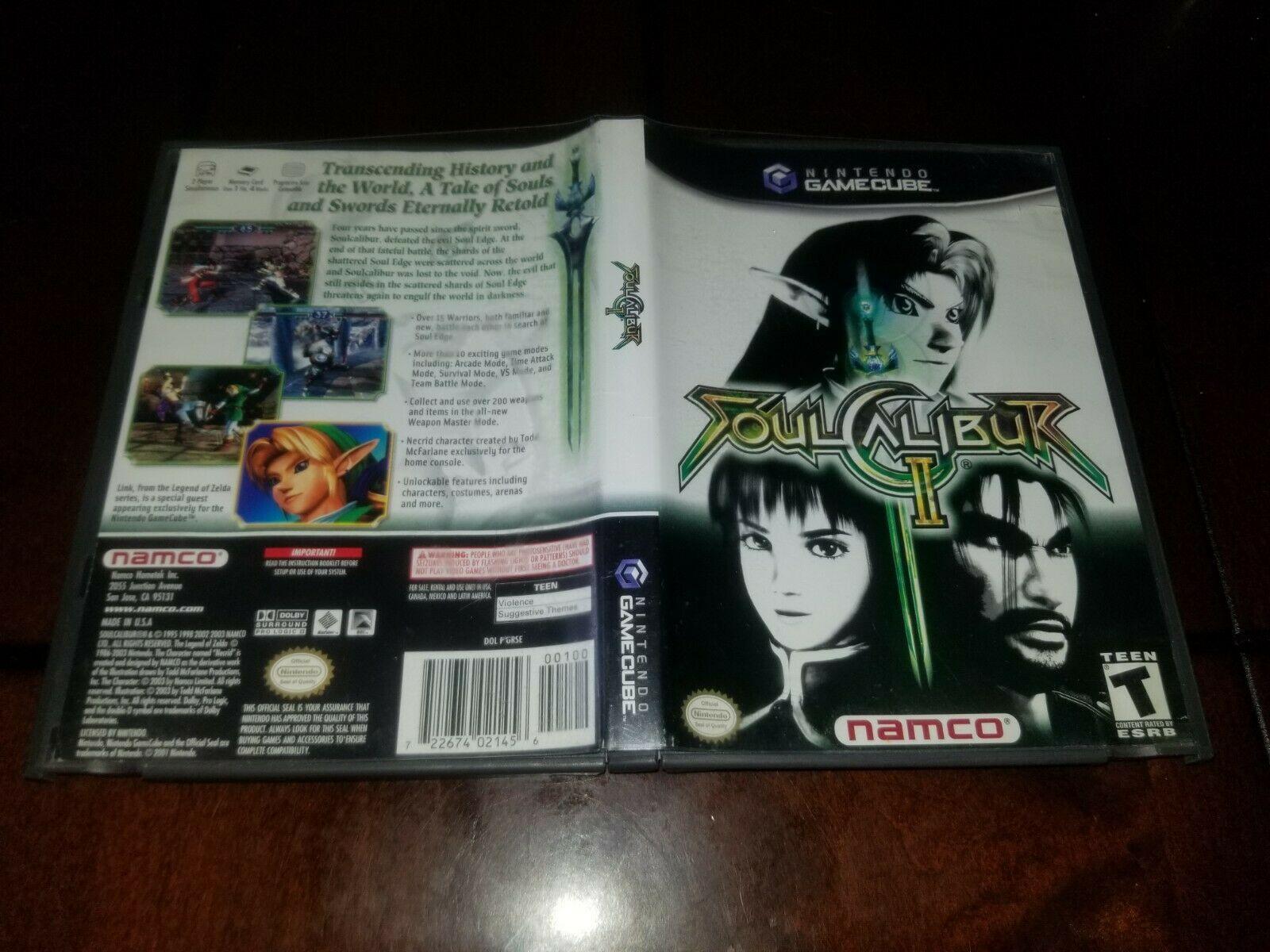 Soul Calibur II Nintendo GameCube EX **Inv02858** image 2