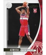 Admiral Schofield Absolute Memorabilia 19-20 #93 Rookie Card Washington ... - $0.50