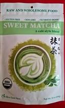 Sweet Matcha /A Cafe Style Blend Usda Organic Nutrient Dense,Non Gmo 1 Pound - $19.80