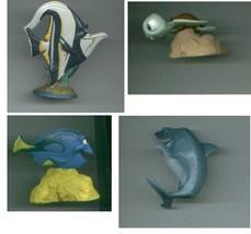 Disney/Pixar FINDING NEMO lot TOY FIGURES/3-D glasses/BATH PUPPET Squirt... - $19.00