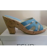 WOMAN SHOES, RSVP  CORK HEEL, SIZES 9 and 9.5 - $9.00