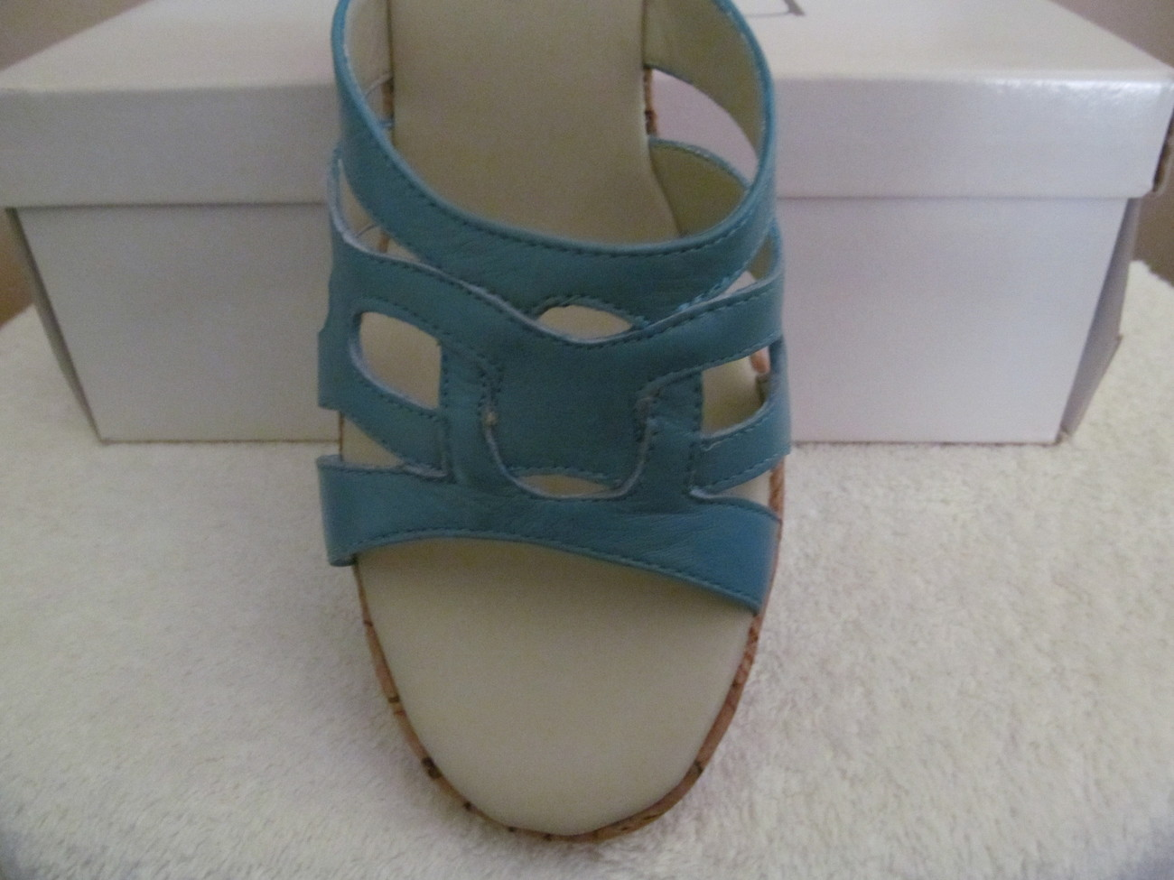 WOMAN SHOES, RSVP  CORK HEEL, SIZES 9 and 9.5