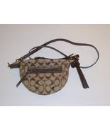 COACH Signature Leather Swingpack Crossbody Bag 10840  - $99.99