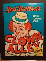 1302----1975 Red Skelton's Clown Alley coloring book - $29.95