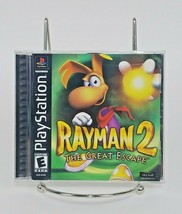 Rayman 2: The Great Escape PS1 Complete (Sony PlayStation 1, 2000) with Manual - $29.58