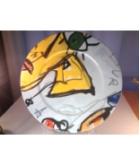"Gollhammer Porcelain Gallery, Gustave 12.5"" Abstract Serving Plate - $13.99"