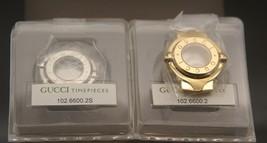 NIB Gucci Replacement Case Set - 6600 L - Silver and Gold Tone - $99.95
