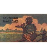 Postcard Black Americana 1930's Southern Blackout - $5.50