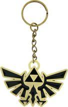 Zelda: Metal Trifoce Emblem Key Chain Brand NEW! - $8.99