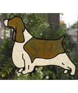 Large dog reusable suncatcher, style #2 English... - $11.00