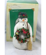 Hallmark 2005 Winter Friends Snowman Figurine - $12.59