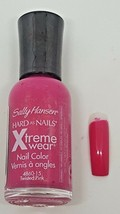 NEW Sally Hansen Hard as Nails Xtreme Wear Nail Polish .45 fl oz 8 Color... - $4.29