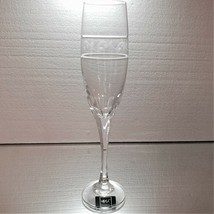 "1 (One) MIKASA LEAD CRYSTAL 10.5"" CHAMPAGNE FLUTE Etched and Cut - NEW - $17.09"