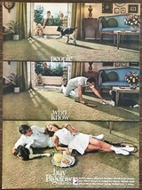 1962 Bigelow Drysdale Carpeting Print Ad Great Cheesy 60s Tennis Couple ... - $11.01