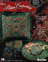 Silk Ribbon Embroidery Holiday Ribbons Galore B... - $5.95