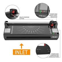 13 Inches Laminator Machine, A3 A4 A6 Thermal Laminating Machine for Home Office image 3