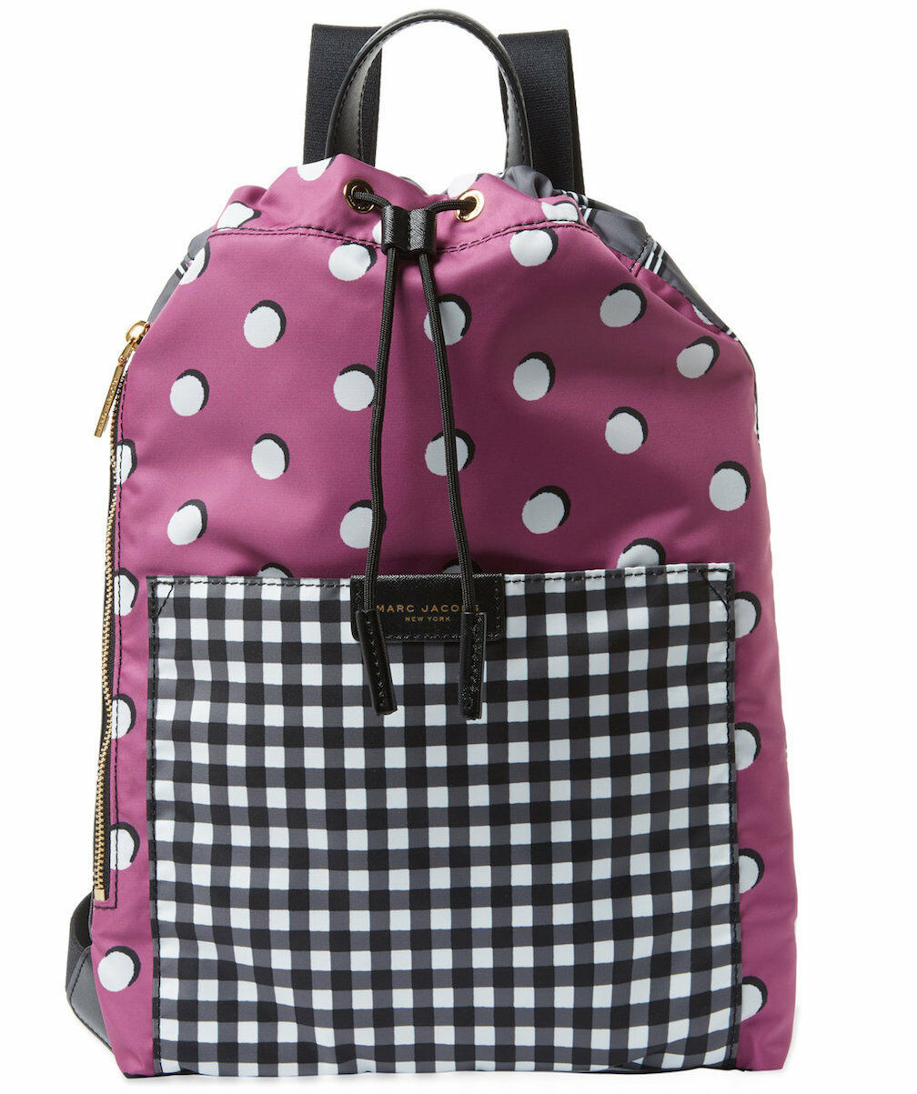 Primary image for Marc Jacobs Backpack Active Nylon Mash Up NEW