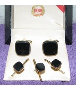 Vintage Hickok Tuxedo Set Cufflinks and Button ... - $14.99