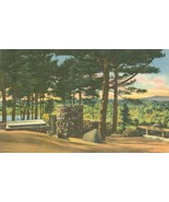 Cathedral of the Pines, Rindge, New Hampshire, 1949 used linen Postcard  - $4.99