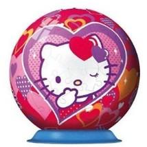 Ravensburger - 12213 - Puzzle 3D - Puzzleball - 108 Pièces - Hello Kitty  - $32.55