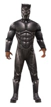 Adult Deluxe Muscle Chest Black Panther (Movie) Costume - $69.99+